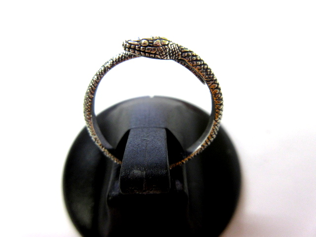 Japanese Rat Snake Ring(青大将リング)【Cold I's】